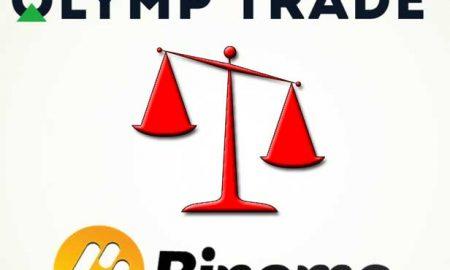 Pilih Olymp Trade atau Binomo