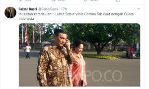 Ekonom Senior Faisal Basri: Luhut Lebih Berbahaya dari Corona
