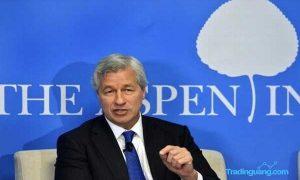 CEO JP Morgan Bingung Ramal Ekonomi Amerika Serikat
